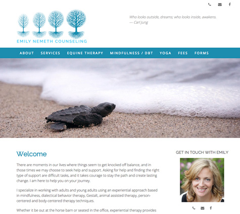 Gray Sky Studio WordPress websites