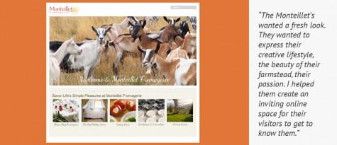 slider image — Monteillet Fromagerie website — Gray Sky Studio