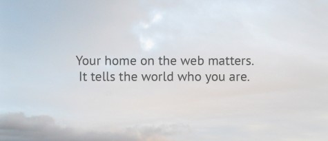 Your home on the web matters | Gray Sky Studio Opening Slide