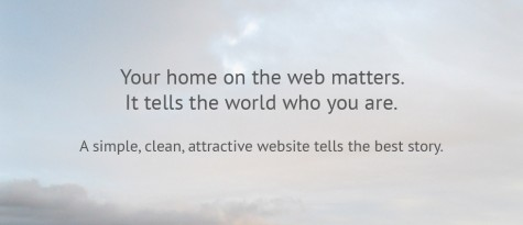 Your home on the web matters—Gray Sky Studio